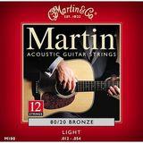 Martin & Co Traditional 80/20 Bronze M190 Light 12-String 12-54 12-30