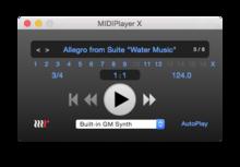 MethodRed MIDIPlayer X 2