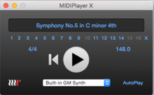 MethodRed MIDIPlayer X