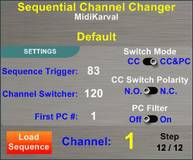 Midikarval Sequential Channel Changer
