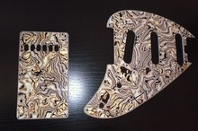 Music Man Silhouette Pickguard