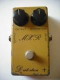 MXR M104 Distortion+ Script Logo Vintage