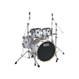 Natal Drums Ash Fusion20 - White Swirl