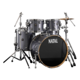 Natal Drums Ash Rock - Grey Sparkle