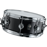 "Natal Drums Birch Snare 14x6.5"" 10 lugs - Gloss Black"