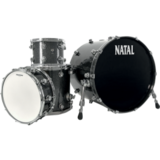 Natal Drums Birch Traditional - Black Metallic