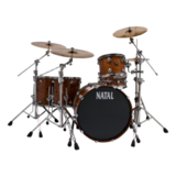 Natal Drums Rock Bubinga - Natural