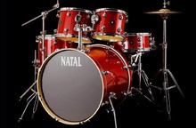 Natal Drums Spirit US Fusion - Scarlet Sparkle