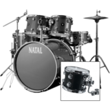 Natal Drums Spirit US Fusion - Solid Black