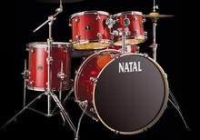 Natal Drums Spirit US Fusion X - Scarlet Sparkle