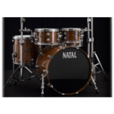 Natal Drums Walnut Fusion20 - Natural
