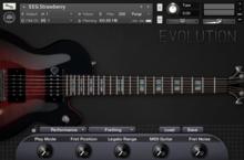 Orange Tree Samples Evolution Electric Guitar - Strawberry