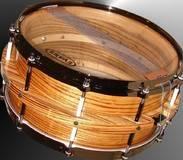 Organic Custom Drums Zebra