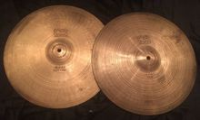 Paiste 2002 Black Label Hi-Hats 14