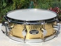 "PDP Pacific Drums and Percussion 5,0x14"" SX by DW Ham. Brass"