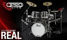 Pearl E-Pro Live X205PCC - Jet Black
