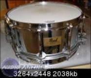 Pearl FREE FLOATING 14X6,5 STEEL SHELL