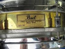 Pearl Free Floating Picolo Brass Snare