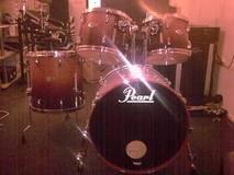 Pearl Master Series MMX Standard chestnut fade