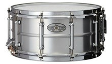 Pearl SensiTone Beaded Seamless Aluminum Snare 14x6.5""