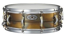 Pearl SensiTone Premium Beaded Brass Snare 14x5""