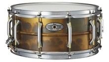 Pearl SensiTone Premium Beaded Brass Snare 14x6.5