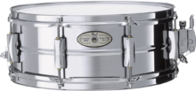 Pearl SensiTone Steel Snare 14x5.5