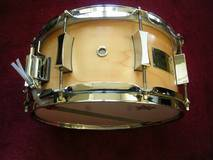 "Pork Pie Caisse claire Maple 12""x6"""