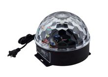 Power Lighting Disco Cristal Magic Ball 6 Couleurs LED DMX