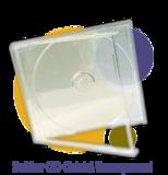 Pressage.EU Pressage DVD - Boîtier CD Cristal (Plateau transparent)
