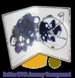Pressage.EU Pressage DVD - Boîtier DVD Amaray Transparent