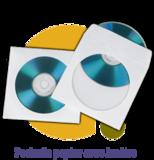 Pressage.EU Pressage DVD - Pochette Papier avec Fenêtre