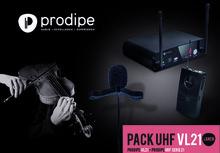 Prodipe Pack UHF VL21 Violons & Altos