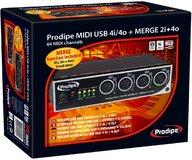 Prodipe USB 4i/4o + Merge 2i/2o