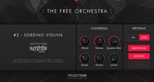 Project SAM The Free Orchestra – Sordino Violins