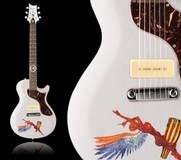 PRS SE One Santana Abraxas White Wash