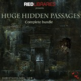 Red libraries Huge Hidden Passages