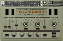 Rhythmic Robot Patchvault Poly6 Factory Set B
