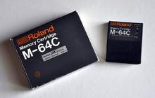 Roland M-64C Memory Cartbridge