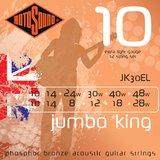 Rotosound Jumbo King JK30EL 10-28 10-48 Extra Light 12-String