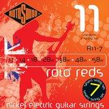 Rotosound Roto Reds R11-7 11-58 Medium 7-String