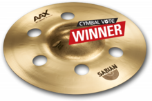 Sabian AAX Air Splash 10''