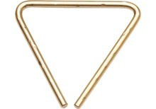 Sabian Hand Hammered B8 Bronze Triangle 4