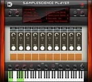 SampleScience Player