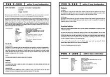Schertler PUB 1-380