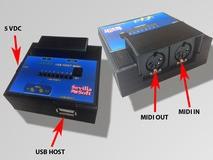 Sevilla Soft UHM USB Host MIDI