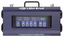 Showtec Lightbrick 4CH. Dimmer Pack DDX