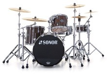 Sonor Ascent Stage 1 Set - Chrome & Dark Natural