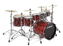 Sonor ProLite Studio 1 Shell Set - Veneer / High Gloss Red Tribal