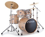 Sonor Select Force Stage 1 Set - Chrome & Natural Maple High Gloss